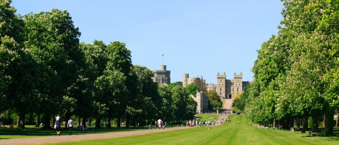 Windsor Castle The Long Walk