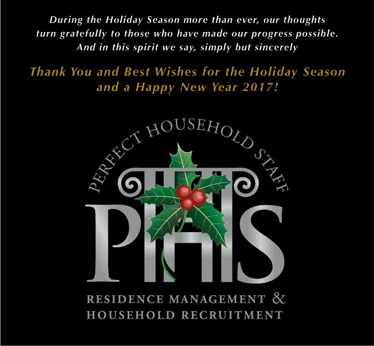 Happy Season Holidays from PHS