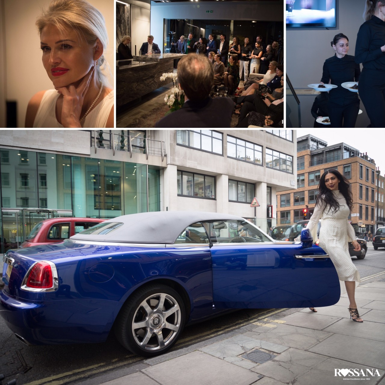PHS was cordially invited to Rolls Royce new model Dawn Presentation hosted by Rossana Kitchens.