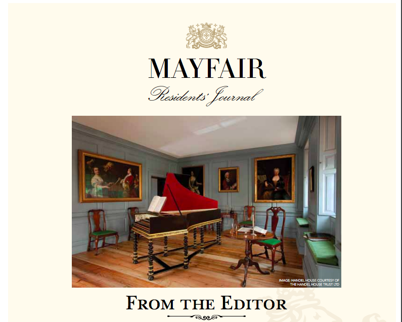 Mayfair Residents Journal